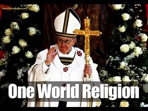 Vatican's ecumenical movement: antichrist pope wants a one world religion (3)