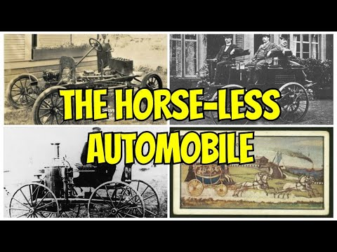 "Mirroring Paul Cook's Video on "" The Horse-Less Automobile"""