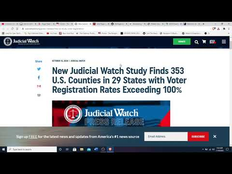 Election update, Pelosi chief of staff and Diane Feinstein's husband connected to Dominion software