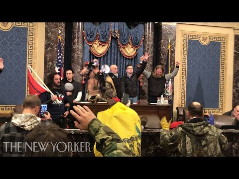 An ASSHOLE'S Footage from Inside the Capitol Siege TO MAKE TRUMP LOOK BAD.