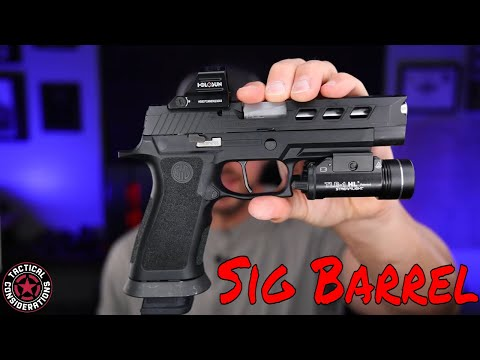 New Sig P320 Barrel From P80 Fresh Build Cheaper Than You Think
