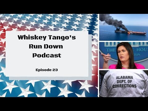 Ship Attacks, Sarah Sanders, Reduction of Police Training, More from Alabama, and Some News!