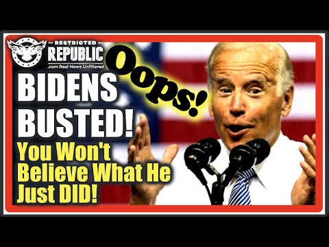 Biden's BUSTED! You Won't Believe What He Just Did For The Communist Party Of China! Americas GONE!!