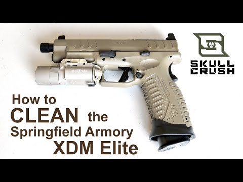 How to Field Strip & Clean the SPRINGFIELD ARMORY XDM Elite