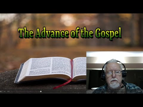 The Advance of the Gospel on Down to Earth but Heavenly Minded Podcast
