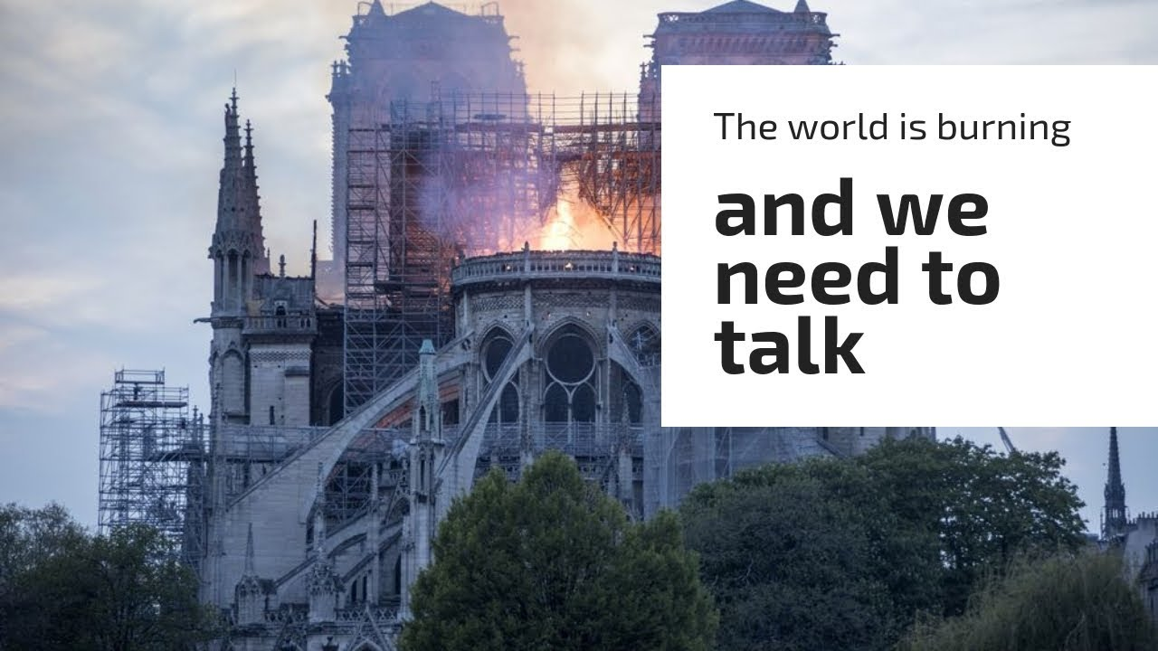 The World is Burning and We Need to Talk | Whiskey Tango