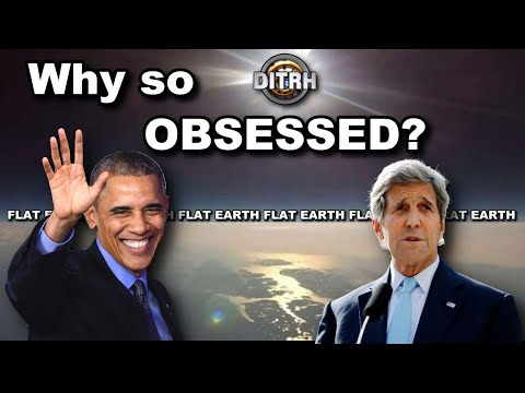 "Why are ""they"" obsessed with FLAT EARTH?"