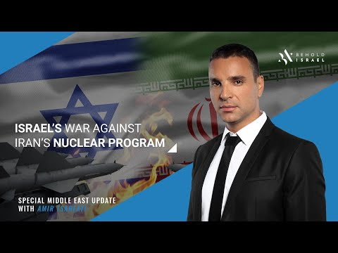 Amir Tsarfati: Middle East Update: Israel's covert war against the Iranian nuclear program!