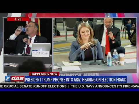 President Trump's full remarks at the Arizona Hearing on massive voter fraud in the 2020 Election