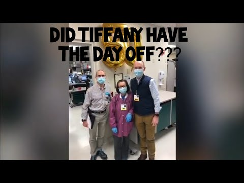 Did Tiffany Dover have the day off?