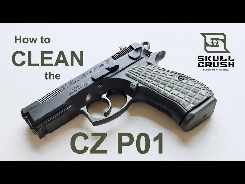 Field Strip & Clean the CZ P01 (for Beginners)