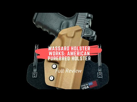 Full Review: Massaro Holster Works American Purebred Holster
