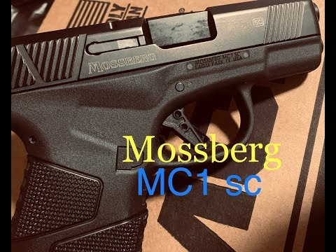 "Mossberg MC1 sc (pt 1): First Shots, Initial Impressions, and a ""Mud"" Test!"