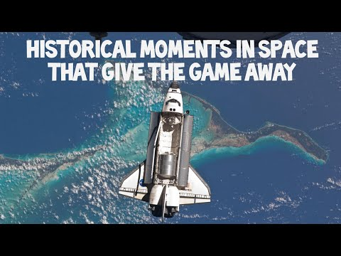 Flat Earth: Historical moments in space that give the game away