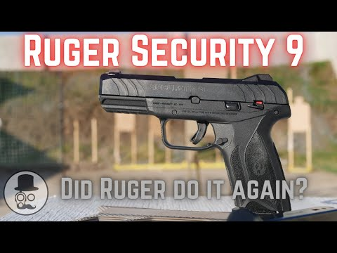 Ruger Security 9 - Ruger's attempt at a Glock 19!  Do they deliver?