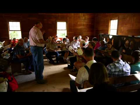 Old Harp Singing, Cades Cove Primitive Baptist Church