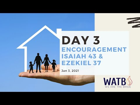 Day 3 40-Day w/Dr. June Knight - Fast Checkup & Encouragement Isaiah 43 & Ezekiel 37