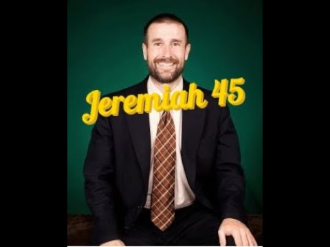 Jeremiah 45 Preached by Pastor Steven Anderson