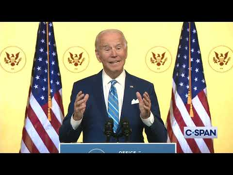 President-elect Joe Biden Thanksgiving Address
