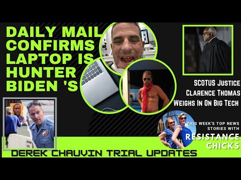 Daily Mail Confirms Laptop Is Hunter Biden's; Clarence Thomas On Big Tech; Weekly Roundup 4/9/2021