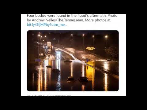 Clean Up Begins in Nashville After Biblical Flooding, 4 Dead