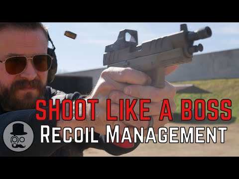 How to Grip a Pistol and Manage Recoil | SHOOT LIKE A BOSS - 1