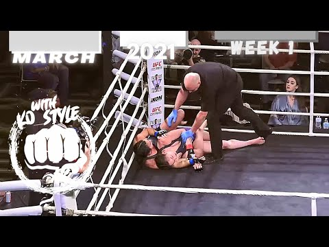 MMA & Boxing Knockouts | March 2021 Week 1