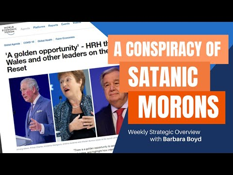 La Rouch news!  Biden and the World Economic Forum: A Conspiracy of Satanic Morons