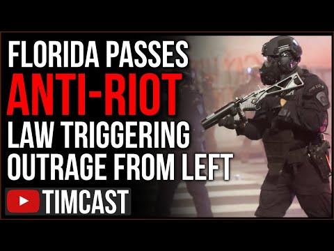 Florida Passes Anti Riot Bill Granting Immunity To People Who Drive Through Rioters Amid BLM Riots