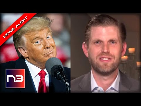 YES! Eric Trump Drops 6 Word BOMB About His Father That Put EVERY RINO On Notice