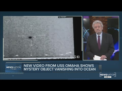 George Knapp. New video from USS Omaha shows unknown aerial sphere vanishing into ocean