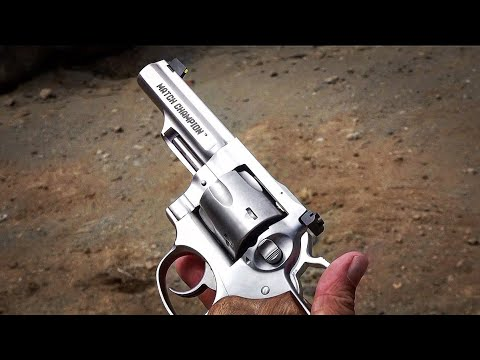 Ruger GP100 Match Champion .357 Magnum Revolver review