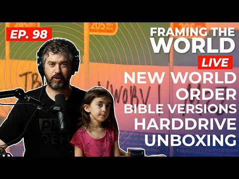 New World Order Bible Versions Hard Drive Unboxing (Episode 98)