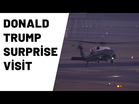 Donald Trump Surprise Visit