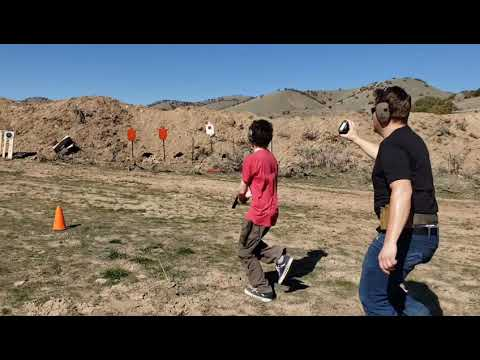 Teaching the boys to Run and Gun!