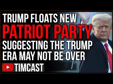 "Trump Floats New ""Patriot Party,"" Angering Republicans And Suggesting The Trump Era Is NOT Over"