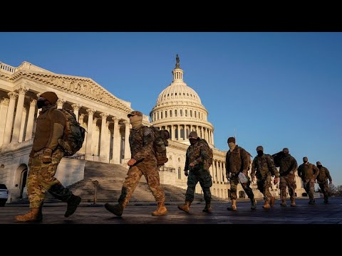 The Dark Winter, DC full of thousands of Military Troops To Protect an illegitimate president