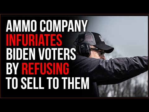 Ammunition Company REFUSES To Sell To Biden Voters, INFURIATING Them