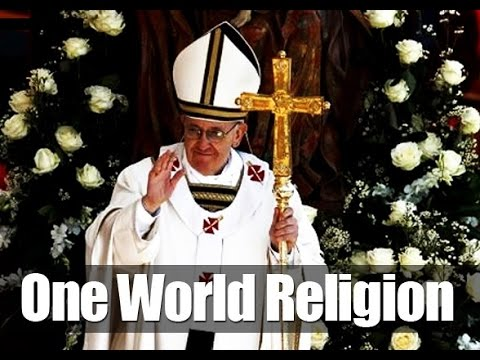 Vatican's ecumenical movement: antichrist pope wants a one world religion (1)