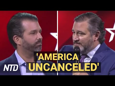 'Donald J. Trump Ain't Going Anywhere': Conservatives Slam Cancel Culture | 2021 CPAC Day 2 | NTD