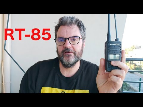 A Quick Look at The Retevis RT-85 Handheld Radio.