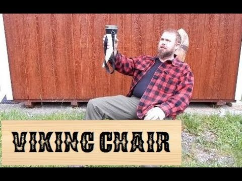 "How to Build a ""Viking"" Chair - 5 Tools, 1 Board"