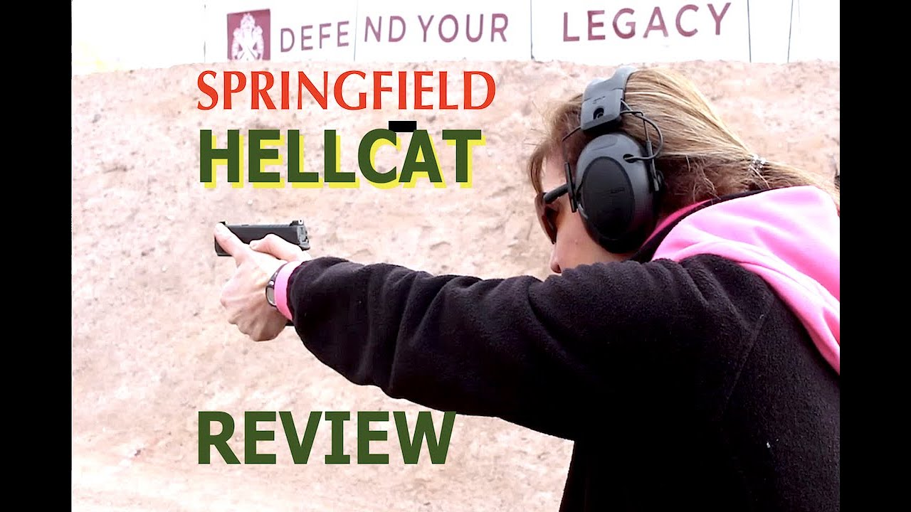 ARMED and Feminine   Hellcat Review SHOTshow
