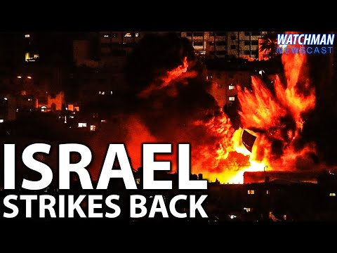 MASSIVE Rocket Barrage Launched from Gaza; Israel Eliminates Terror Commanders | Watchman Newscast