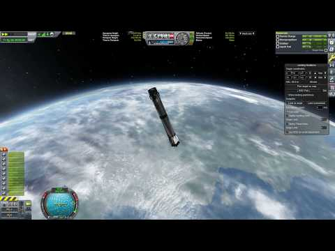 KSP - First Stage Recovery From Launch To Landing