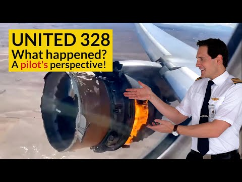 UNITED 328 Engine Failure! WHAT CHECKLISTS did the pilots use? Explained by CAPTAIN JOE