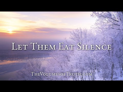 LET THEM EAT SILENCE (Regarding allowing comments, and how to deal with scoffers)