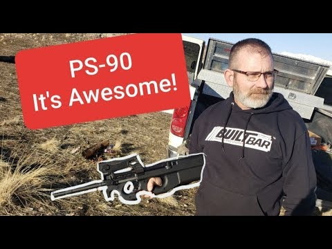 Testing out the FN PS90. It's awesome!
