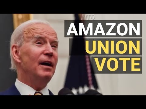 Biden Supports Amazon Workers' Unionization; J&J Starts Shipping Out New Vaccine | NTD Business