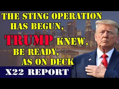 Ep 2321b - The Sting Operation Has Begun, Trump Knew, Be Ready, EAS On Deck